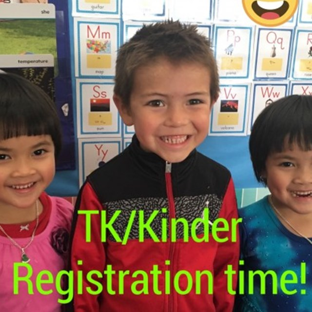 Have your student join the wildcat family by enrolling them in Transitional Kindergarten and Kindergarten.