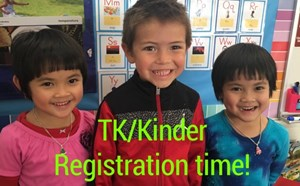 Online Enrollment is open for Transitional Kindergarten and Kindergarten - article thumnail image