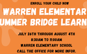 Summer Fun at Warren!!! - article thumnail image